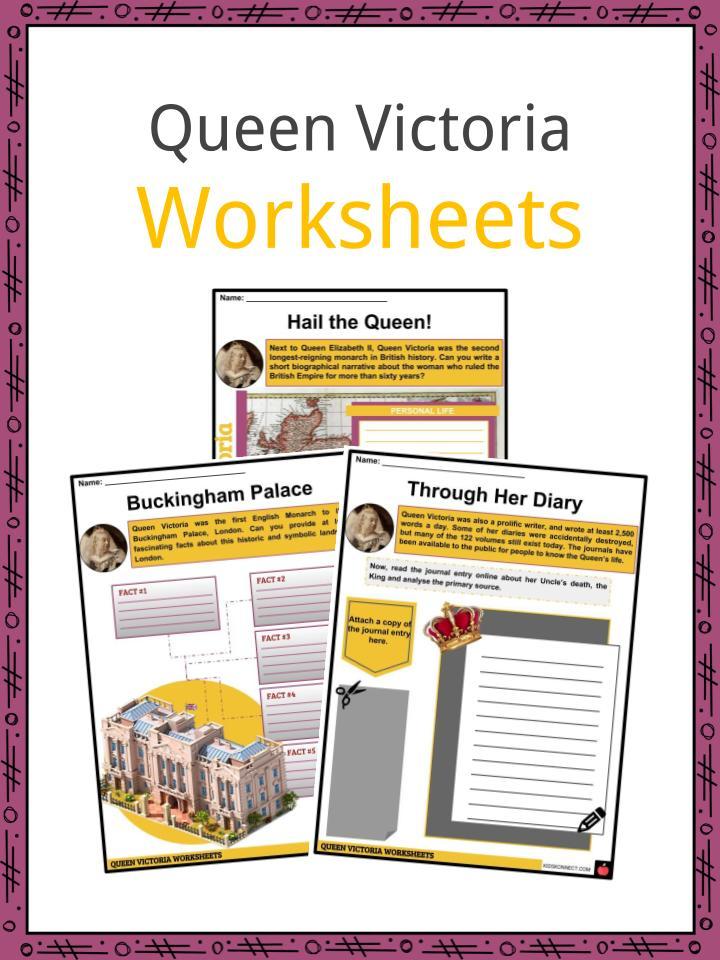 Queen Victoria Worksheets