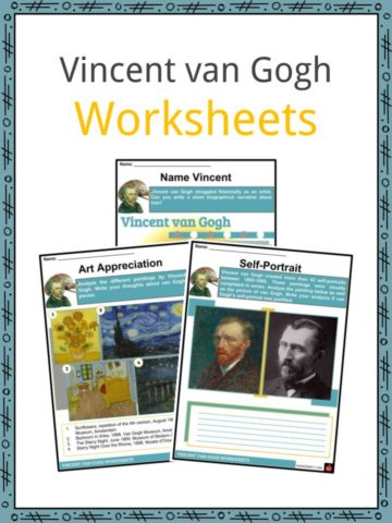 Vincent van Gogh Worksheets