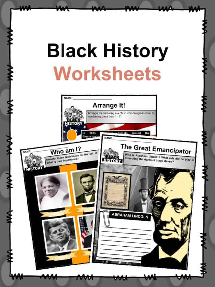 Black History Facts & Worksheets | Black History Month 2019