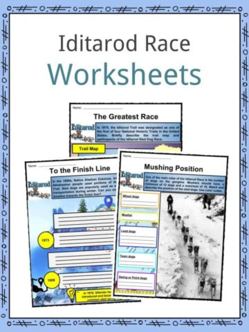 Iditarod Race Worksheet