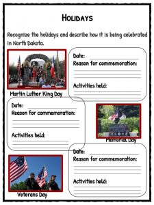 Facts Worksheets Information State History For Kids