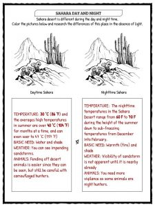 Sahara Desert Facts, Worksheets & Historical Information For Kids