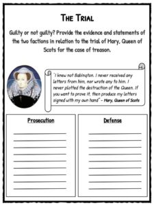 mary queen of scots facts amp worksheets for kids