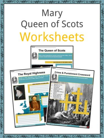 Mary Queen of Scots Worksheets