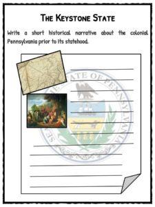 pennsylvania facts worksheets historical information for kids. Black Bedroom Furniture Sets. Home Design Ideas