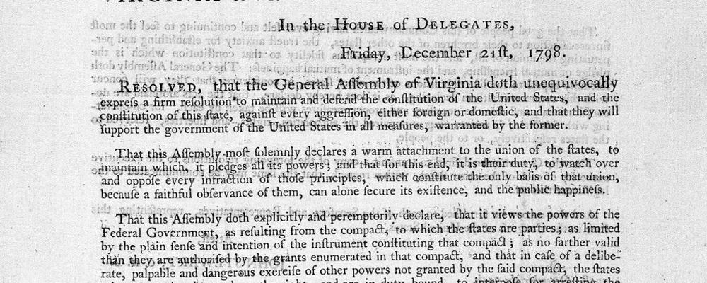 the alien sedition acts 1798