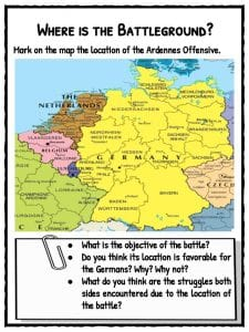 Battle Of The Bulge Worksheets & Teaching Resources   TpT