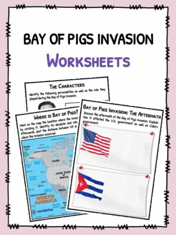 Bay of Pigs Invasion Facts & Worksheets