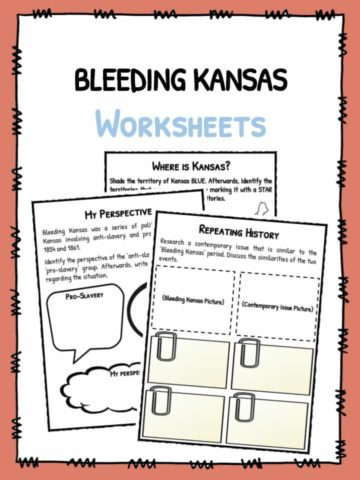 Bleeding Kansas Facts & Worksheets