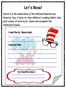 Dr. Seuss Facts, Worksheets & Book History For Kids