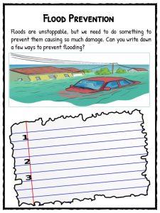 Flood Facts, Worksheets & Information For Kids