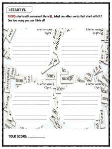 Bl-/Fl-/Pl- Consonant Blends | Kids - Reading | Pinterest ...