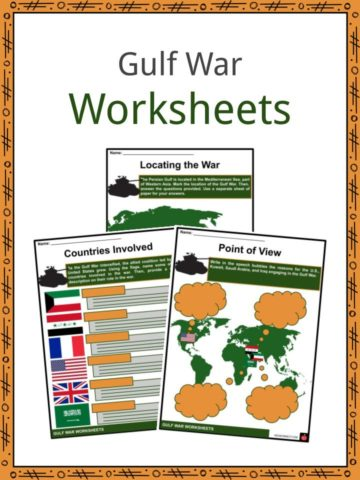 Gulf War Worksheets