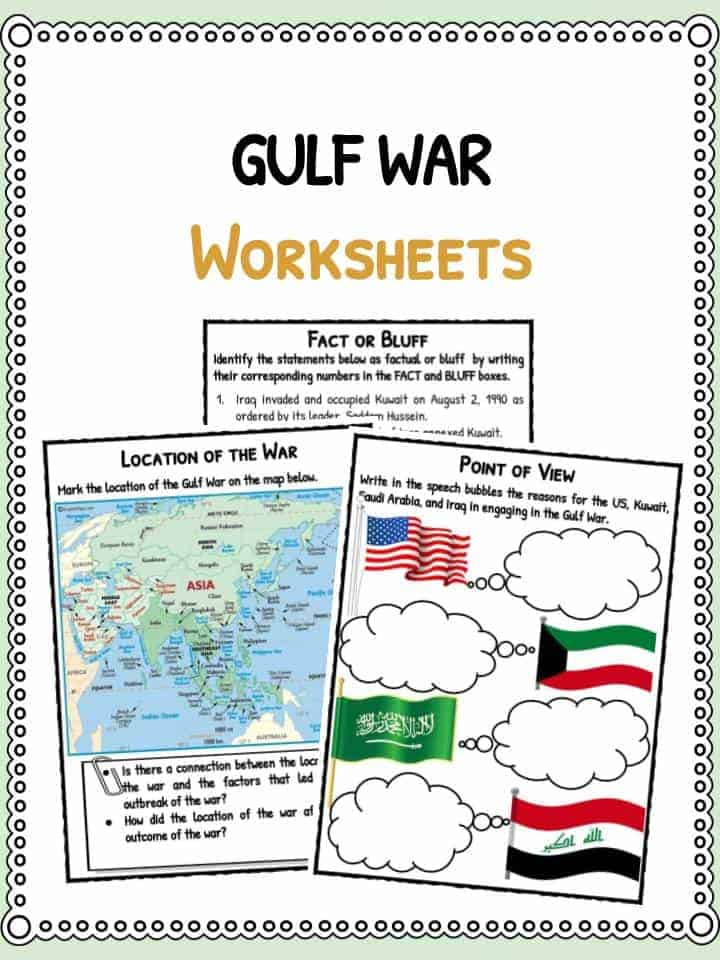 an introduction to the history of the gulf war Keywords active learning, counterfactuals, iraq war, virtual history introduction  teaching the iraq war, as burgos (2008) noted, is challenging because of the.