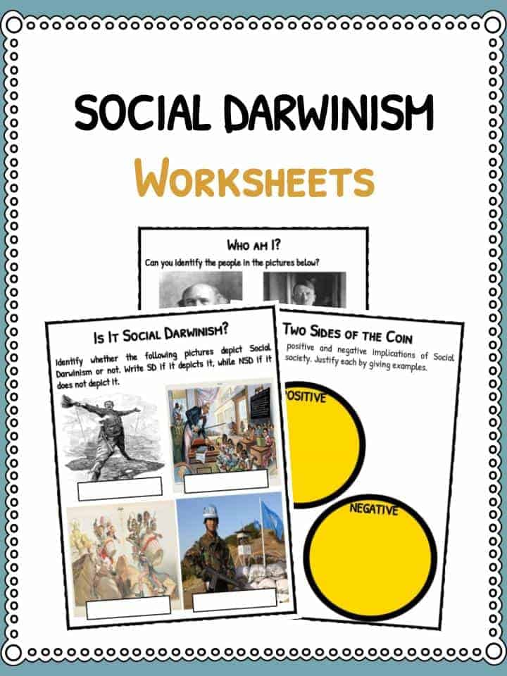 Social Darwinism Facts & Worksheets