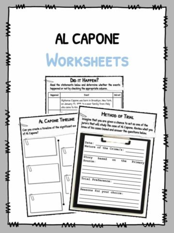 Al Capone Facts & Worksheets