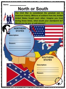 American Civil War Facts, Worksheets, History & Impact On Slavery