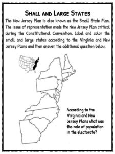 New Jersey Plan Facts, Worksheets & Information For Kids