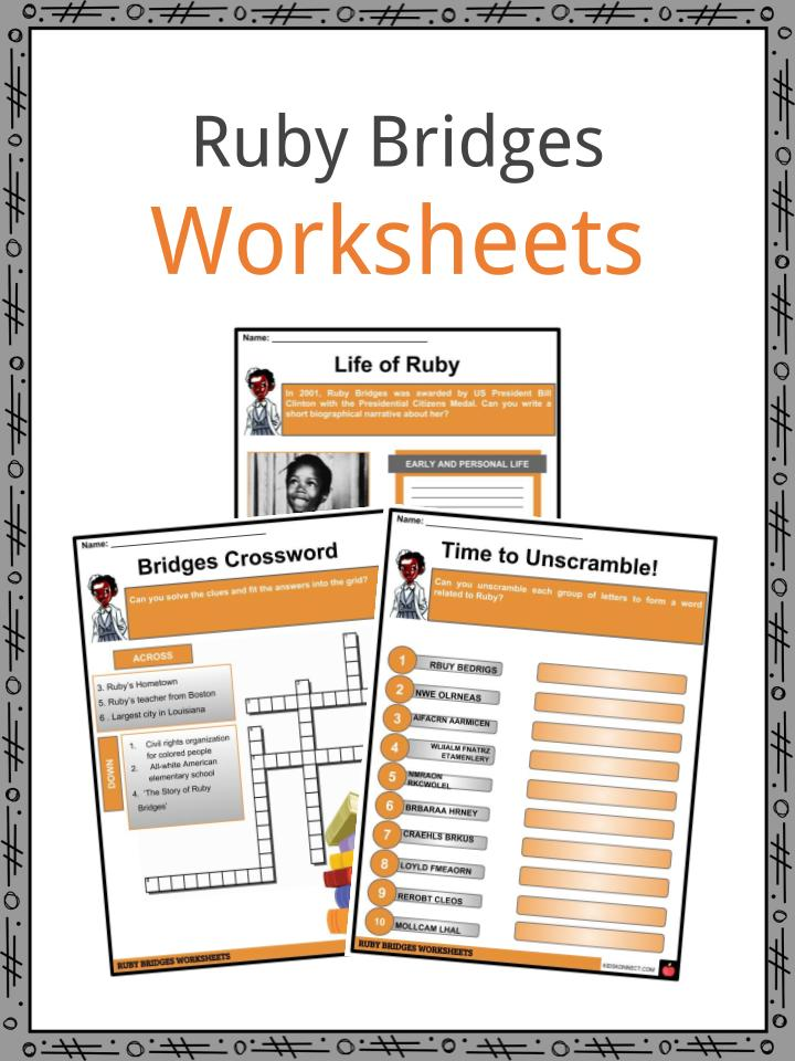 Ruby Bridges Facts, Worksheets & Historical Biography For Kids
