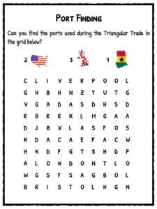 triangular trade facts for kids kids matttroy. Black Bedroom Furniture Sets. Home Design Ideas