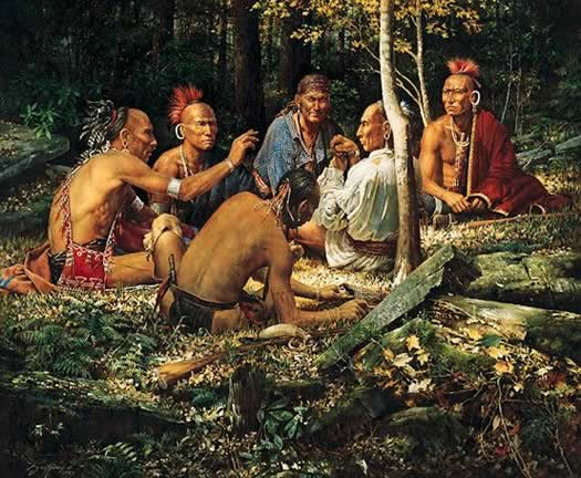 Eastern Woodlands Indigenous People Facts & Worksheets For Kids