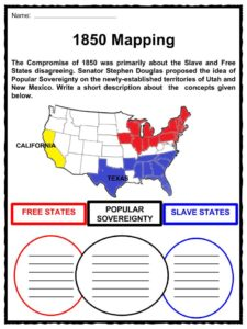 compromise of 1850 facts worksheets key events for kids