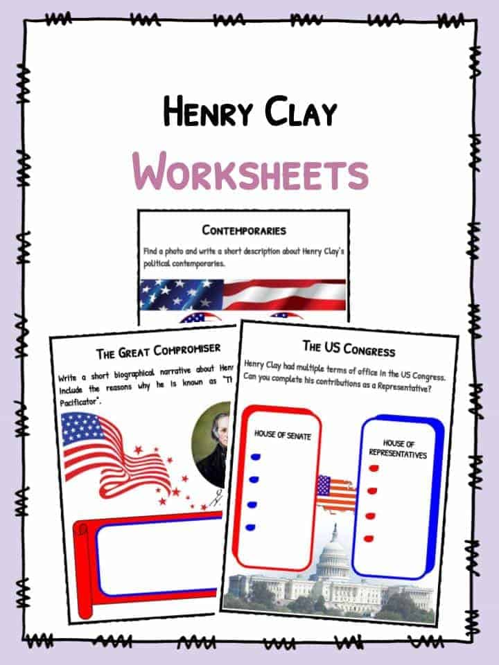 Henry Clay Worksheets