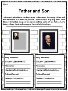 John Adams Facts, Worksheets, Presidency & Historic ...