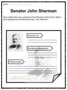 an analysis of the sherman anti trust act The sherman antitrust act is an example of such limitations placed upon businesses that the quiz and worksheet for this lesson will seek to help you explore learn and recall information on the.