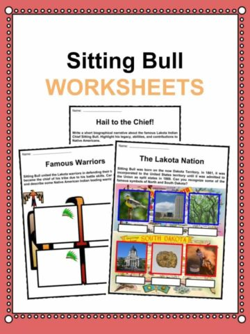 Sitting Bull Worksheets