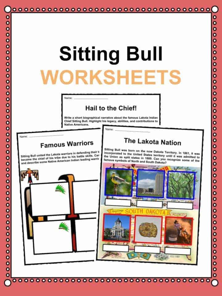 Sitting Bull Worksheets