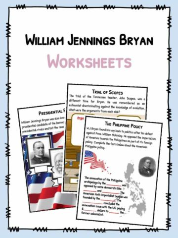 William Jennings Bryan Worksheets