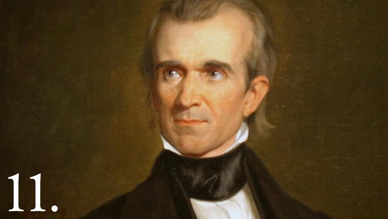 James Polk facts