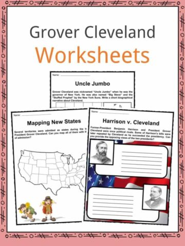 Grover Cleveland Worksheets