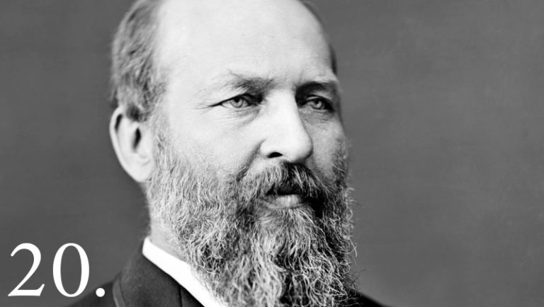 a biography of james a garfield a former us president About the twentieth president of the united states james a garfield, his birth, death, biography, description, facts and quotes.