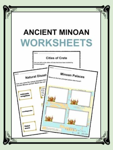 Ancient Minoan Worksheet