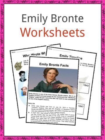 Emily Bronte Worksheets