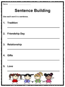 friendship day facts worksheets information for kids. Black Bedroom Furniture Sets. Home Design Ideas