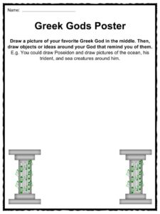 9 FREE ESL greek mythology worksheets