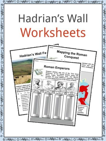 Hadrian's Wall Worksheets