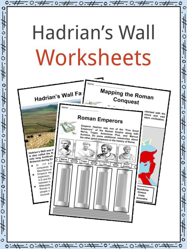 Hadrian's Wall Worksheets
