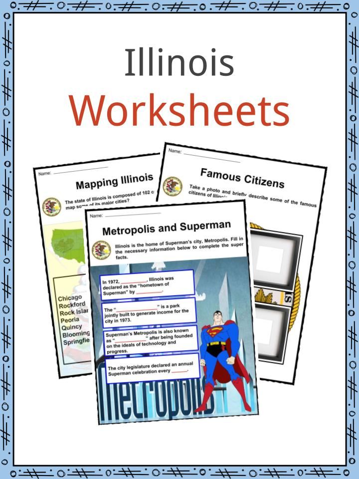 Illinois Worksheets