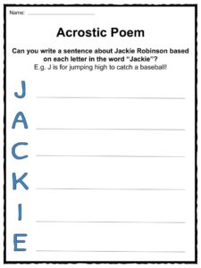 Jackie Robinson Facts & Worksheets | KidsKonnect