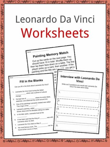 Leonardo Da Vinci Worksheets