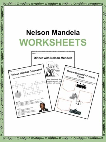 Nelson Mandela Worksheets