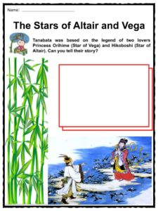 Tanabata Festival Facts, Worksheets & Information For Kids