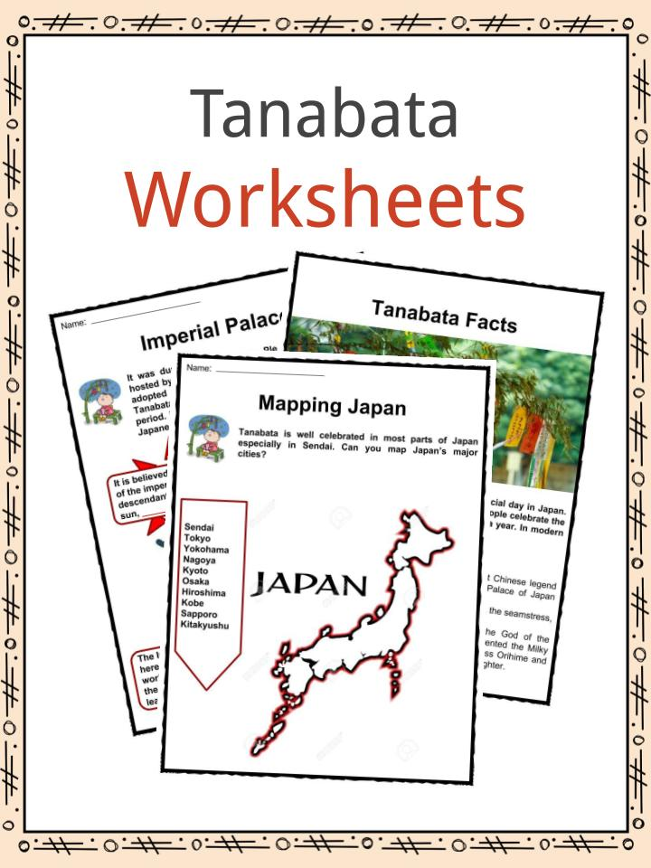 photograph about Legend of the Christmas Spider Printable named Tanabata Pageant Information, Worksheets Articles For Youngsters