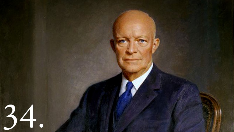 Dwight D Eisenhower Facts