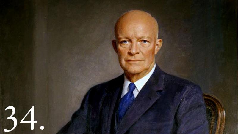 Dwight D Eisenhower Facts