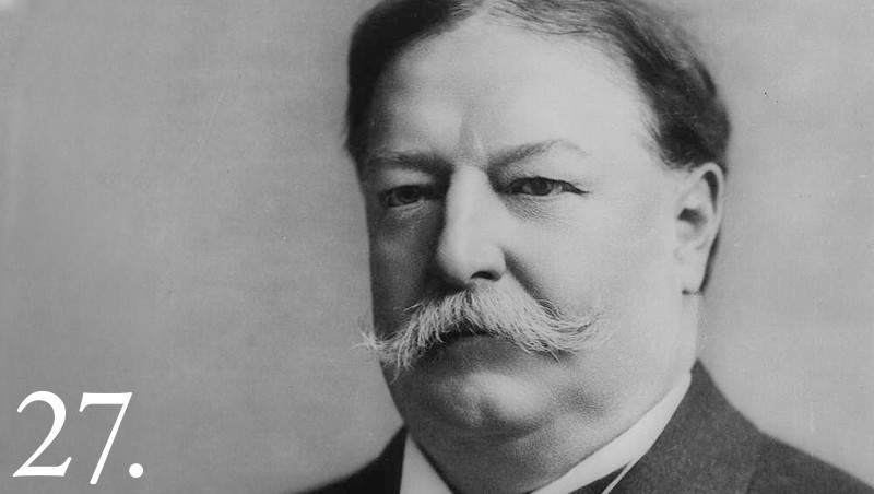 William Howard Taft Facts